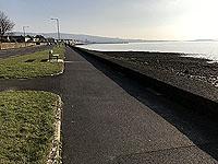 Run Ben Bouie loop.  : Helensburgh sea front