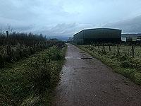 Run Ben Bouie loop.  : Farm building