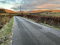 Run Ben Bouie loop.  : A cold Glen Fruin