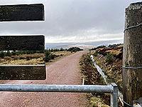 Run Ben Bouie loop.  : Looking towards Glrn Fruin