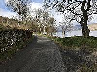 Road beside Loch Earn