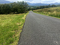 Downhill section towards Faslane
