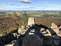 View from the top of Meikle Tap