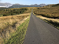 Looking towards the Arrochar alps