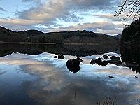 Loch Ard still in the morning