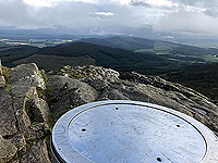 View from the top of Bennachie