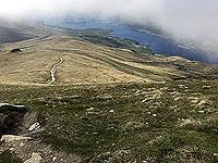 View from near top od Ben Lomond