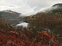 Overlooking Loch Lubnaig