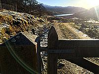 View back in Glen Finglas