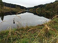 The Stank, a small fishing lochan.