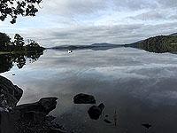 Loch Lomond in the early morning