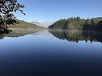 Across a very still Loch Ard